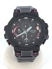 ソーラー腕時計・G-SHOCK/アナログ/RED/BLK