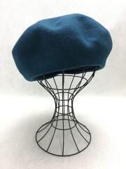 ベレー帽/M/ウール/BLU/18AW-HAT001