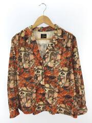 20aw/マーブル/C.O.B.Classic Shirt/長袖シャツ/2/レーヨン/ORN/総柄