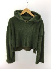 fur hood pull/パーカー/S/ナイロン/GRN/SI-T08-780