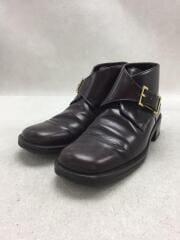 104 0171/ブーツ/35.5/BRW/レザー