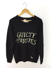 GUILTY PARTIES/20SS/セーター(厚手)/L/ウール/BLK