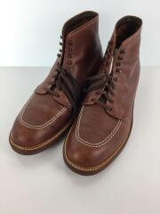 Indy Boots/405/レースアップブーツ/US11/BRW/レザー