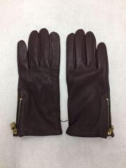 F75544/手袋/レザー/BRD/無地/レディース