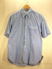 半袖シャツ/--/コットン/BLU/マーカウェア/シャンブレーシャツ
