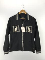 長袖シャツ/EMBROIDERY SHIRT JKT/刺繍