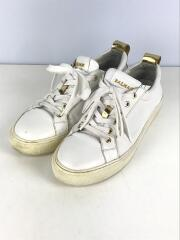 LEATHER SNEAKER/41/WHT/レザー/汚れ 使用感有/71.A304.P038