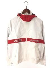 gore-tex court jacket/M/ナイロン/WHT