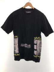 ×ANARCHIC ADJUSTMENT/プリントTシャツ/S/コットン/BLK