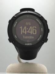 AMBIT3 PEAK/クォーツ腕時計/デジタル/ラバー/BLK