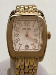 フォリフォリ/WF5R080BD/クォーツ腕時計/アナログ/ステンレス/PNK/GLD