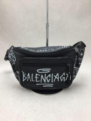 EXPLORER BELT BAG/ショルダーバッグ/--/BLK/バレンシアガ