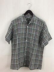 半袖シャツ/L/リネン/GRY/チェック/ペンドルトン/9275-6000/グレー