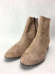 ブーツ/37/BEG/スウェード