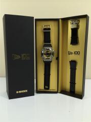 クォーツ腕時計/デジアナ/キャンバス/GLD/BLK/100周年記念コラボ/GM-110NE/G-SHOCK  SPECIAL