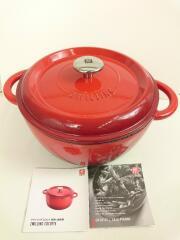 鍋/容量:4L/サイズ:24cm/RED/ツヴィリング/ツヴィリングココット