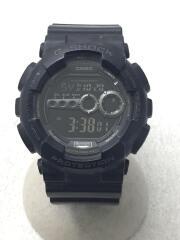 カシオ/クォーツ腕時計・G-SHOCK/デジタル/BLK