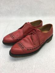 ブーツ/UK7/RED/レザー/3904/ポインテッドトゥ