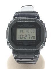 G-SHOCK/クォーツ腕時計/DW-5600BEAMS20-8JR/デジタル/ラバー/クリアブラック