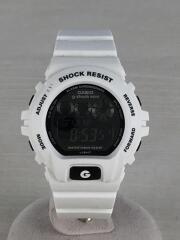 カシオ/GMN-691/G-SHOCK mini/クォーツ腕時計/デジタル/ラバー/ホワイト/ブラック