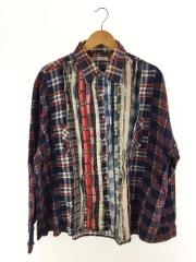長袖シャツ/--/コットン/マルチカラー/Wide Ribbon Shirt