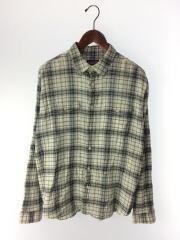 A/C Steersman Shirt/53831/長袖シャツ/M/コットン/GRN/チェック