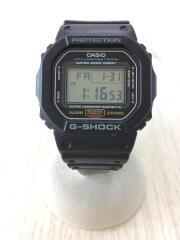 G-SHOCK/クォーツ腕時計/デジタル/ラバー/BLK/BLK