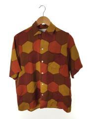 NIPOALOHA/オープンカラシャツ/アロハシャツ/M/シルク/マルチカラー