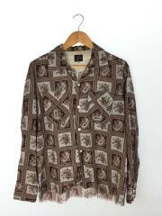 18SS/Classic Shirt-Tencel Cloth/Paisley Print/XS/クラッシックシャツ