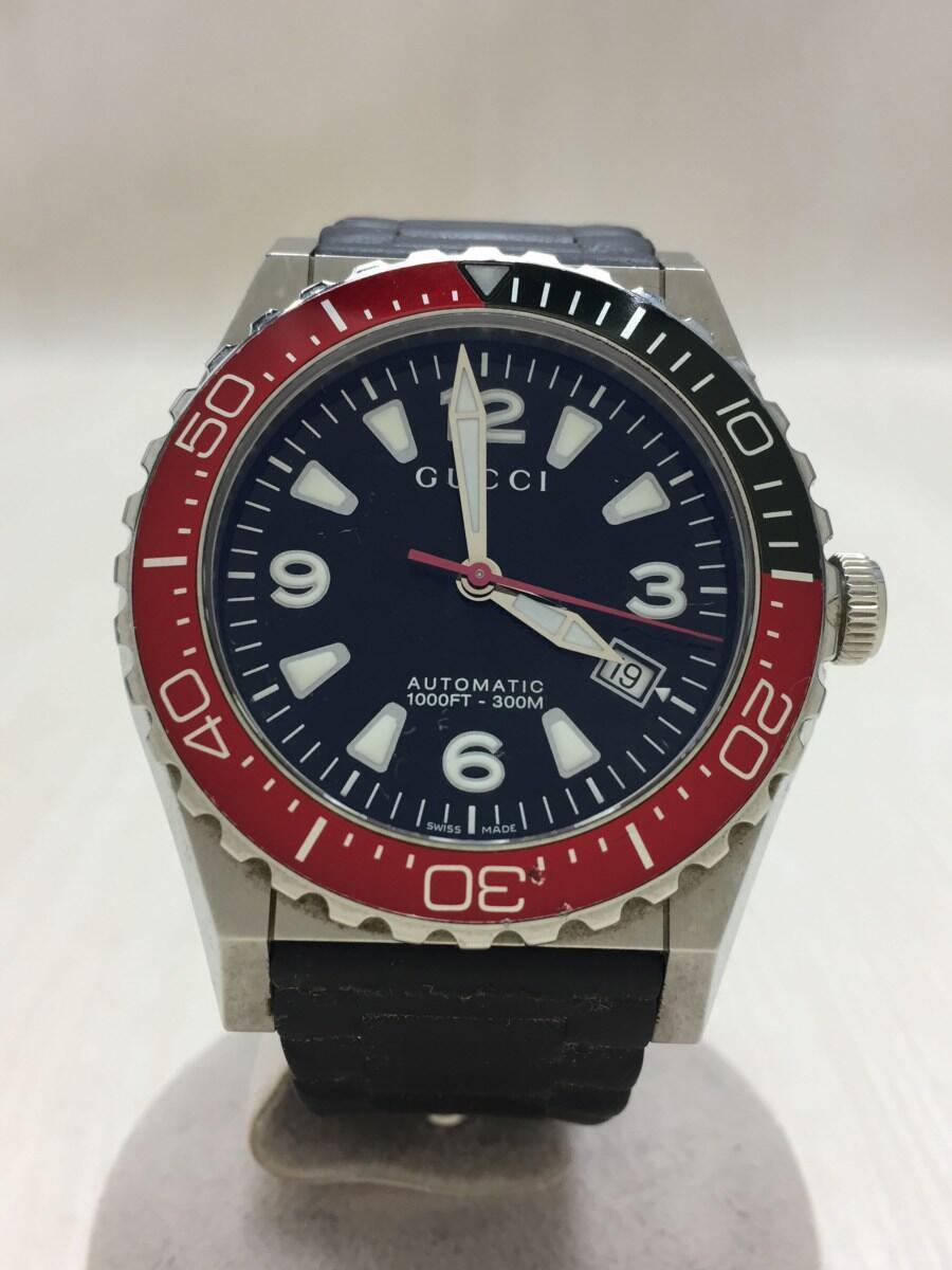 GUCCI Pantheon diver date self-winding watch Analog - BLK BL