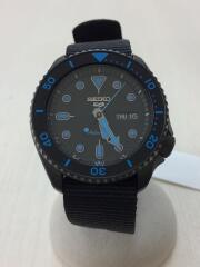 自動巻腕時計/アナログ/--/BLK/BLK