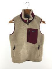 Classic Retro-X Vest/フリースベスト/23083/クリーム/ボルドー/S