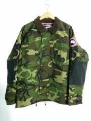 19ss/Tactical Jacket/ジャケット/L/ポリエステル/KHK/カモフラ/迷彩/ヨゴレ有/