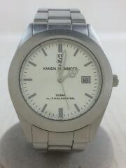 クォーツ腕時計/アナログ/KU-0201/ステンレス/SLV/SLV