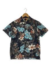 フローラルオープンカラーシャツ/半袖シャツ/S/コットン/マルチカラー/総柄/119609