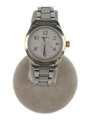 ルキア デイトウォッチ/ソーラー腕時計/アナログ/シルバー/1B22-0CD0