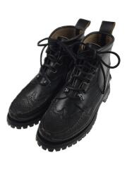 Maine Guide Wingtip Quebec DB Boots/US8/ブラック/レザー/19024PM