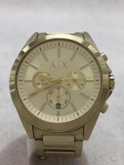 Drexler/クォーツ腕時計/アナログ/ゴールド/AX2602