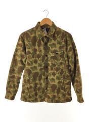 ×西川ダウン/Lining Down Twill Shirt Jacket/ジャケット/M/コットン/カモフラ