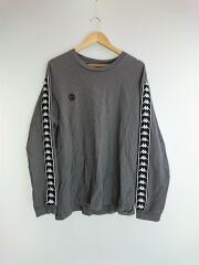 長袖Tシャツ/48/コットン/BLK