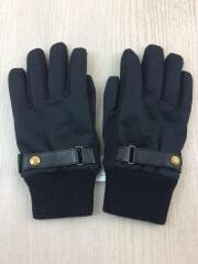 手袋/ウール/BLK/無地