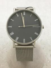 クォーツ腕時計/アナログ/ステンレス/BLK/SKW6428