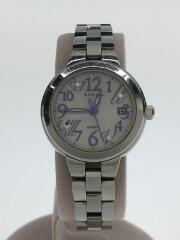 SHEEN/クォーツ腕時計/アナログ/ステンレス/GRY/SLV/SHE-A506