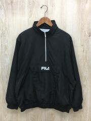 フィラ/ナイロンアノラックジャケット/L/ナイロン/ブラック/FL5294