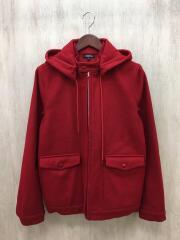 アーペーセー/フーディー/ジャケット/XS/ウール/RED