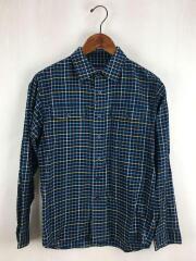 パタゴニア/長袖シャツ/XS/コットン/マルチカラー/チェック/L/S Buckshot Shirt