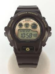 GMN-692-5BJR/g-shock mini/クォーツ腕時計/デジタル/ラバー/ブラウン/茶