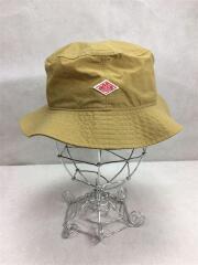 JD-7148NTF/ハット/帽子/ナイロン/キャメル/ブラウン/茶/刺繍ブランドロゴ