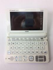 電子辞書 エクスワード XD-K8500WE [ホワイト]/タッチパネル 音声