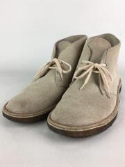 クラークス/DESERT BOOTS SAND SUEDE/チャッカブーツ/UK8/ベージュ/スウェード
